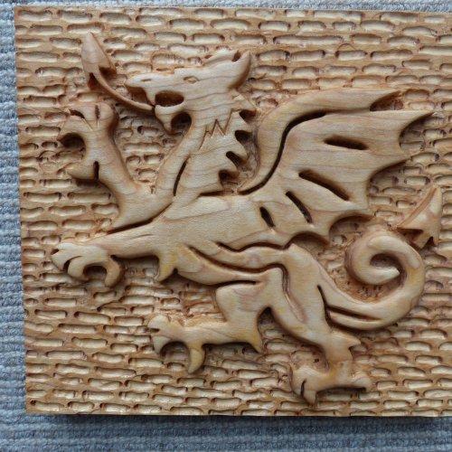 Dragon Plaque Phil Daniels