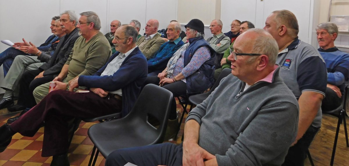 AGM for 2016 Attended By 22 Members