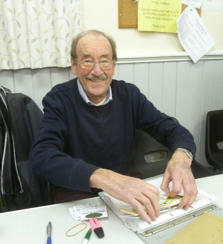 Mr John Davis Retiring Treasurer